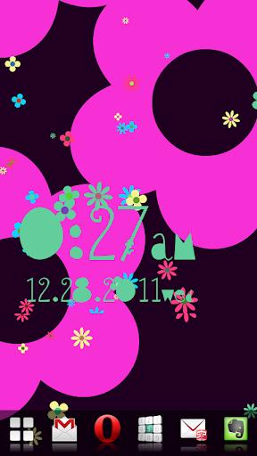 玩免費個人化APP|下載フラワー♥フロウ!アラームライブ壁紙 app不用錢|硬是要APP