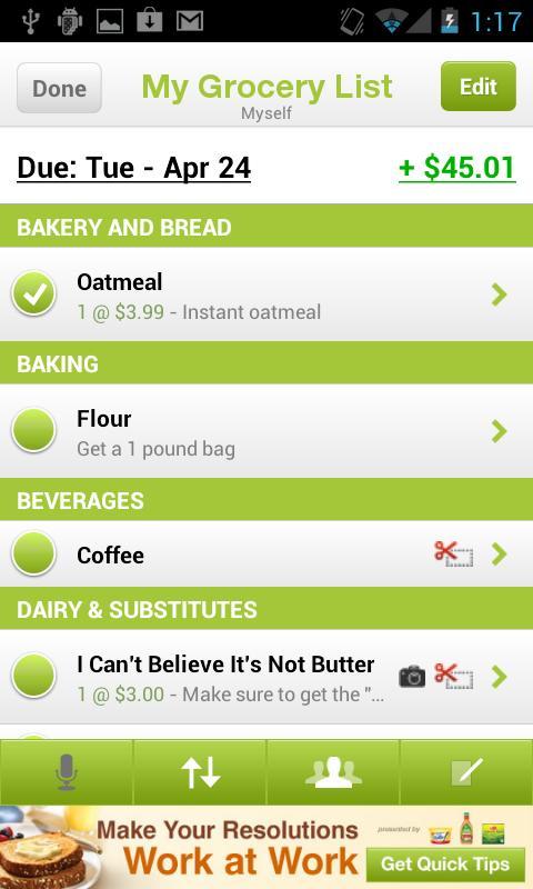Grocery Guru - screenshot