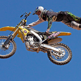 Freestyle Competition by Dirk Luus - Sports & Fitness Motorsports ( motocross, motorbike, tricks, motorcycle, freestyle,  )