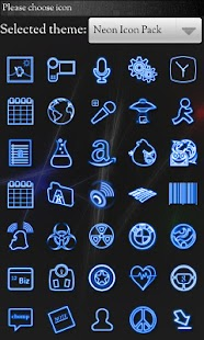 Icon Pack - Neon Icons- screenshot thumbnail