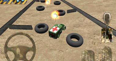 Screenshot of Army parking 3D - Parking game