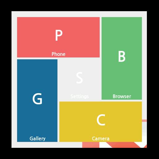 スクエアホームテーマ:Gメールのスタイル 個人化 App LOGO-APP試玩