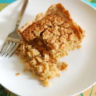 Maple Oatmeal Pie.