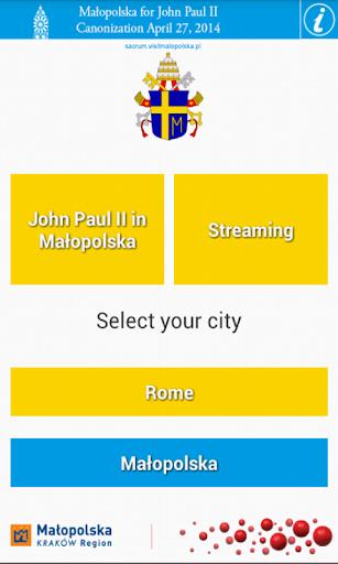 Małopolska for John Paul II