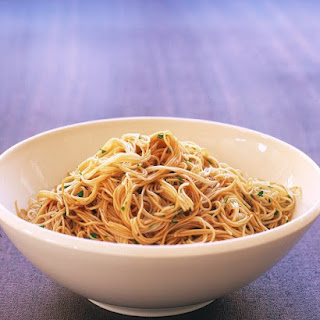 Chinese Noodles with Sesame Dressing.
