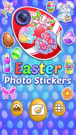 復活祭 写真用ステッカー