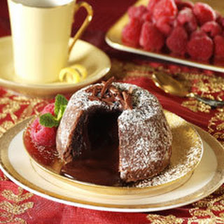 Chocolate Lava Cakes.