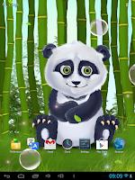 Screenshot of Sleepy Panda Live Wallpaper
