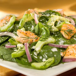Dill Spinach Salad.