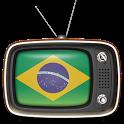 Brazil TV Free (160+ channels) icon