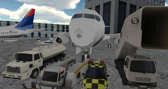 超3D机场停车场