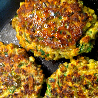 Deliciously Nutritious Quinoa-mung Bean-lentil Cutlets (or Patties).