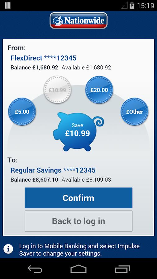 Nationwide Mobile Banking - screenshot