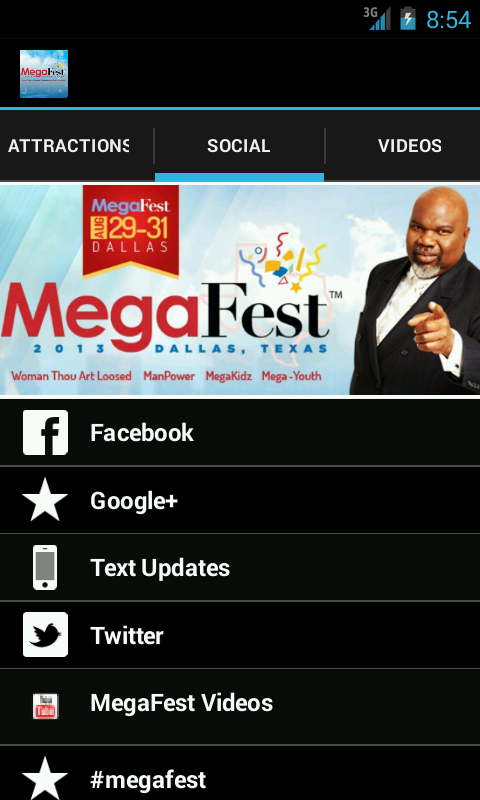 MegaFest- screenshot
