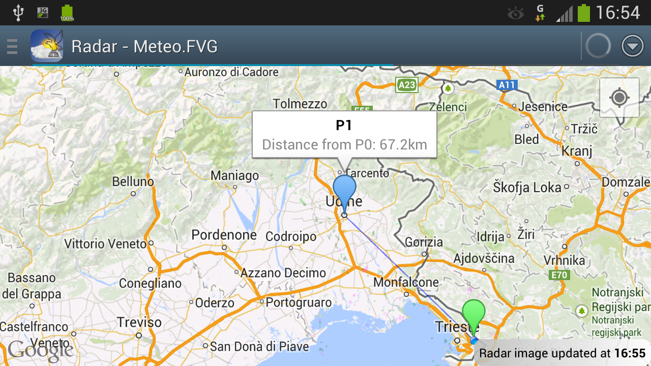 Meteo.FVG- screenshot
