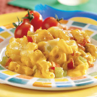 No Boiling Mexicali Mac & Cheese Bake