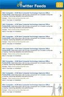 Screenshot of Business2012 Event Guide