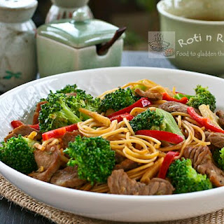 Broccoli Beef Noodles