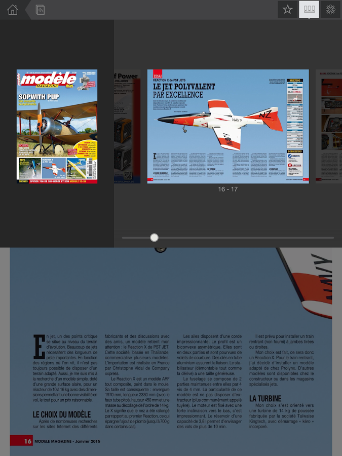 Modèle Mag- screenshot