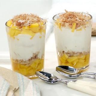 Mango-Coconut Parfait.