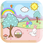 Cartoon Easter Free Wallpaper