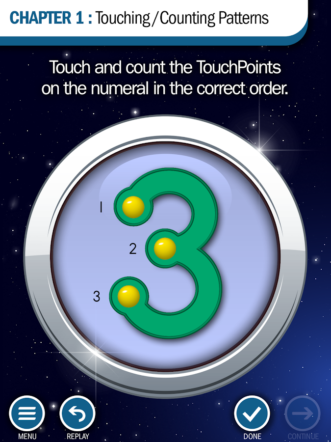 TouchMath T/C Patterns Pro- screenshot