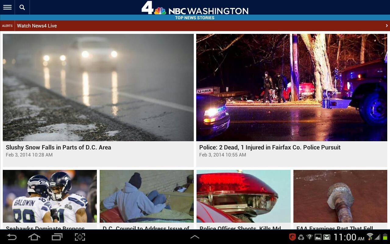 NBC Washington - screenshot