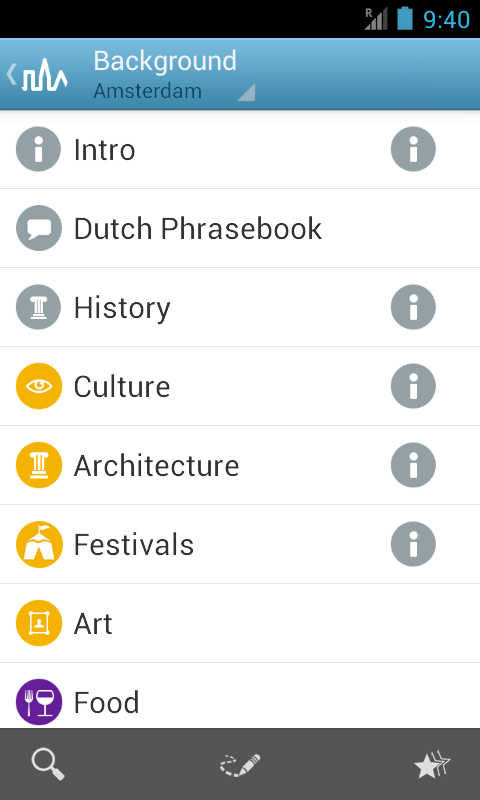 Amsterdam Travel Guide Triposo- screenshot