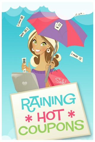 Raining Hot Coupons - screenshot