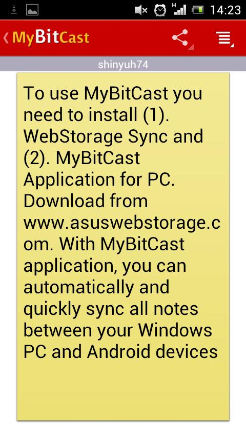 MyBitCast - screenshot