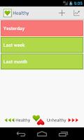 Screenshot of Healthy