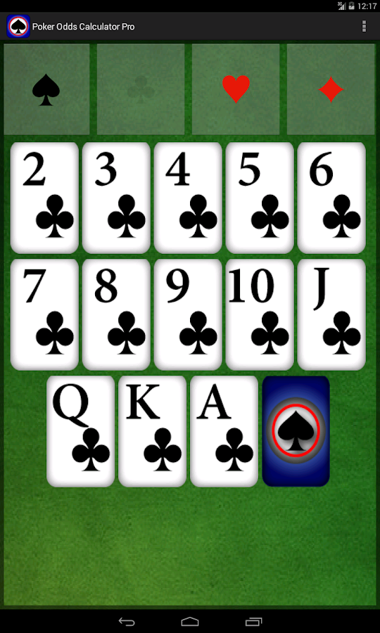 poker odds calculator app