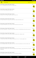Screenshot of Egypt Yellow Pages