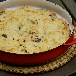 Maacouda (Tunisian Potato Omelette with Olives and Mint)