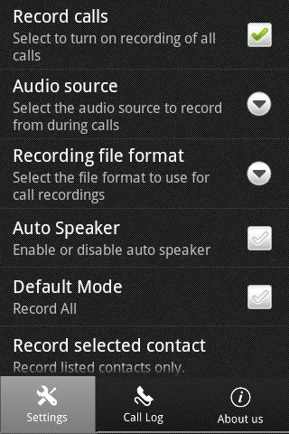 Instant Call Recorder - screenshot