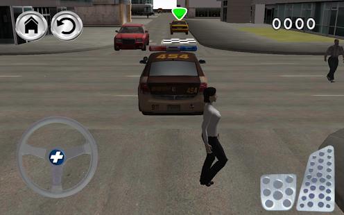 警長警察停車3D遊戲