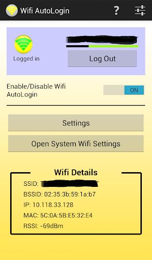 Wifi AutoLogin