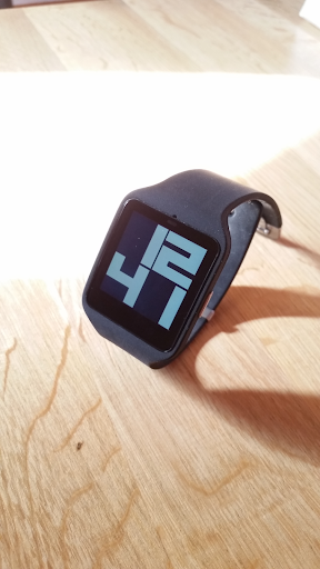 Wear Big Digital Watch Face