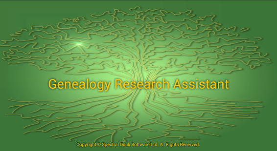 Genealogy Research Assistant - screenshot thumbnail