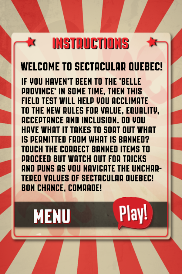 SECTACULAR Quebec!- screenshot