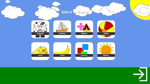 Toddlers Memory Game Demo