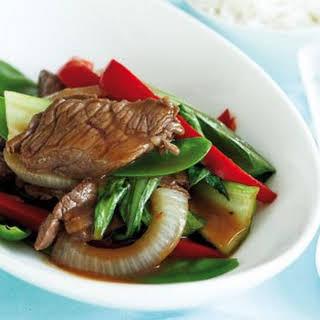 Teriyaki Beef Stir-fry.