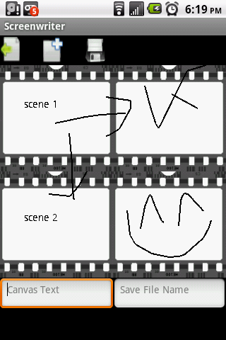 Screenwriter - screenshot