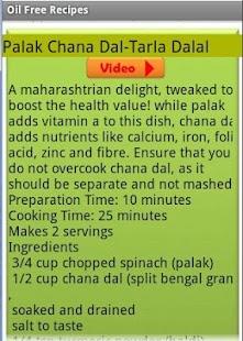 Oil Free Recipes