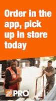 Screenshot of The Home Depot Pro App
