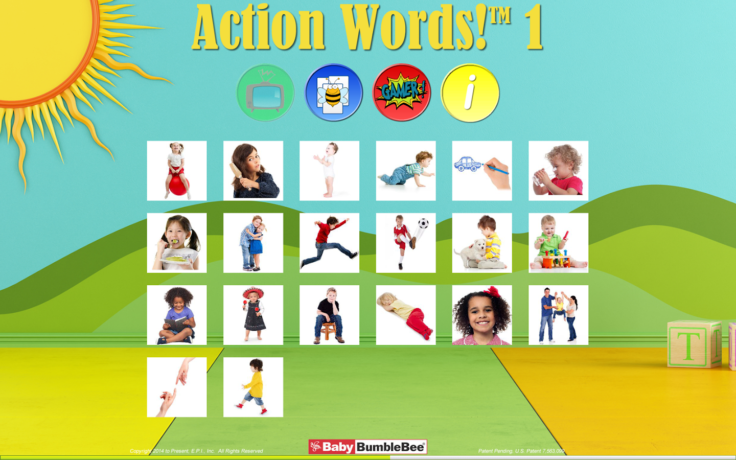 action words 1 flashcards android apps on google play action words 1 flashcards screenshot