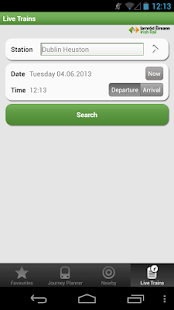 Iarnrod Eireann Irish Rail App- screenshot thumbnail