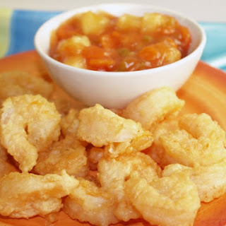 Crispy Sweet And Sour Shrimp