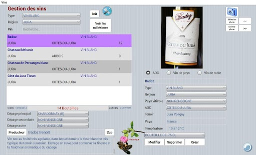 Dionysos, gestion caves à vins- screenshot thumbnail