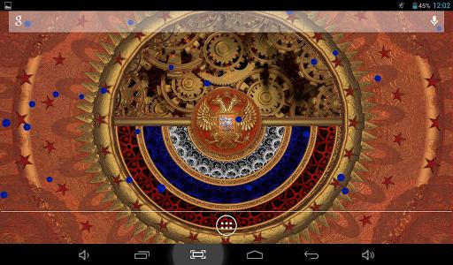 Россия Живые Обои + Часы для планшетов на Android